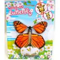 Fliegende Schmetterling mit Gummibandantrieb