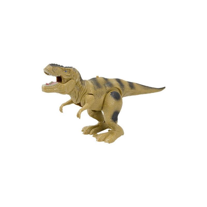 Laufender Dinosaurier Tyrannosaurus Rex mit Ton