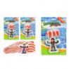 Fallschirmspringer Spielzeug XL 60 cm Schirm