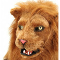 Löwenmaske Deluxe mit beweglichem Mund