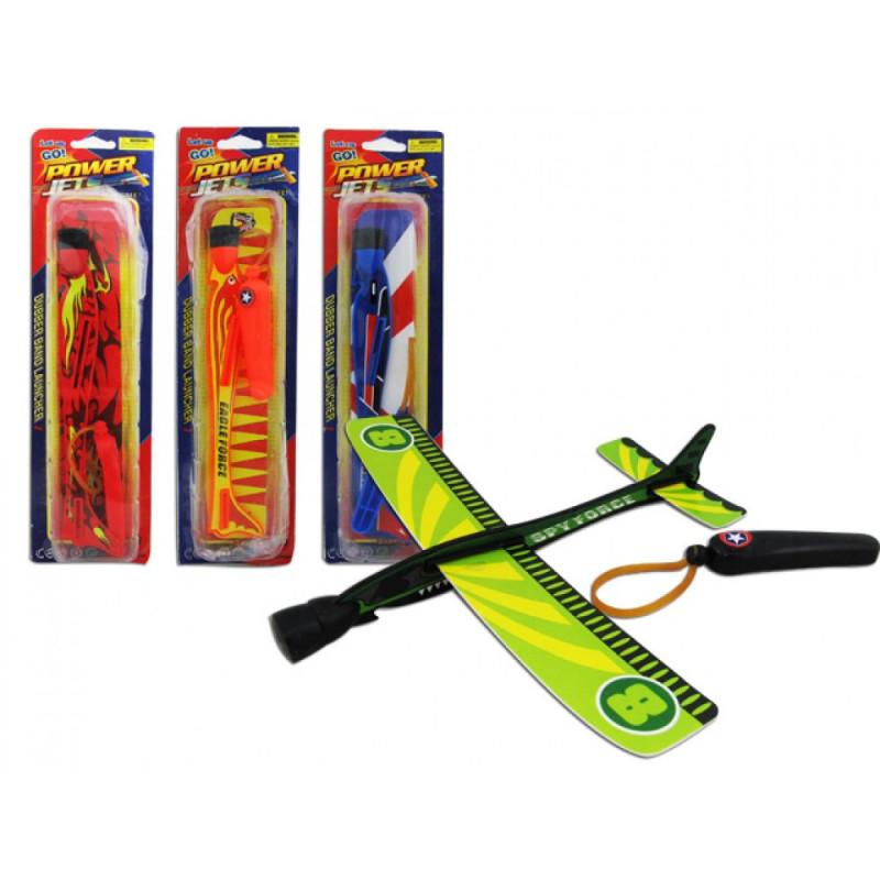 Powerjet Flieger mit Gummizug