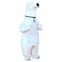 Aufblasbares Eisbärkostüm Aufblasbares Kostüm