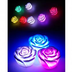 4 Rosen förmige stimmungs Lichter