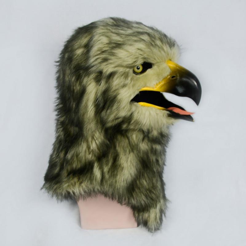 Habicht Maske Vögel Maske mit beweglichem schnabel