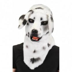 Dalmatiner Hunde Maske mit beweglicher Schnauze