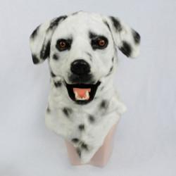 Dalmatiner Hunde Kinder Maske mit beweglicher Schnauze