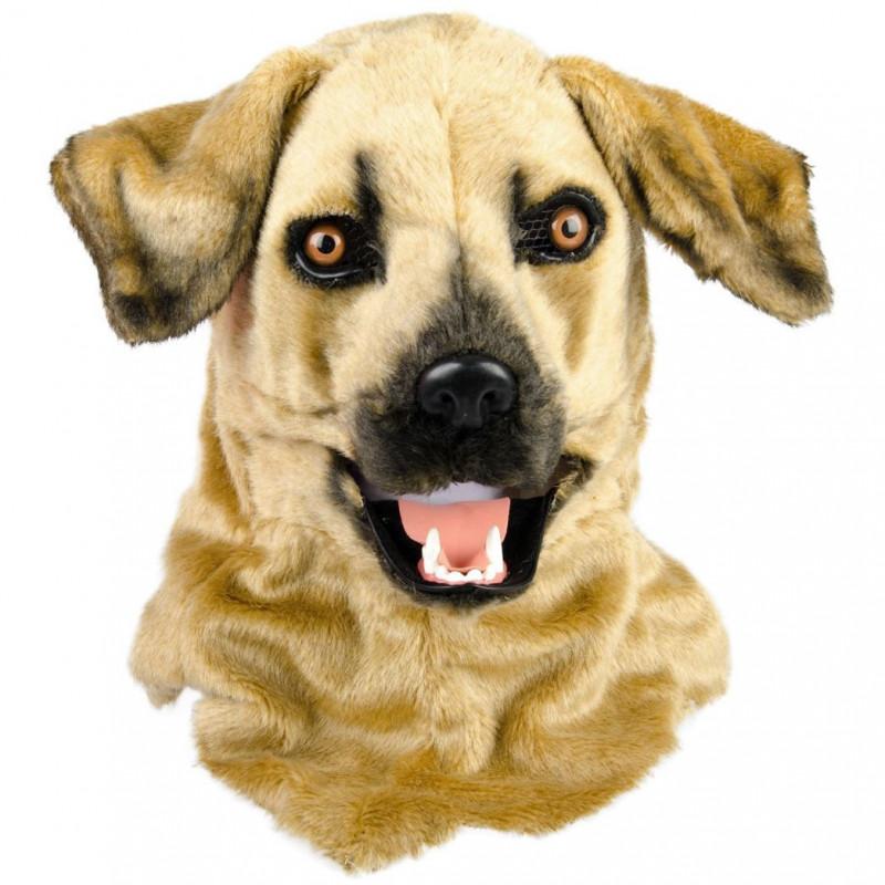 Hundemaske Mischling mit beweglicher Schnauze