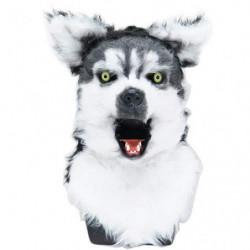 Husky Hundemaske mit beweglicher Schnauze