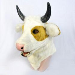 Kuh Maske mit beweglichem Maul