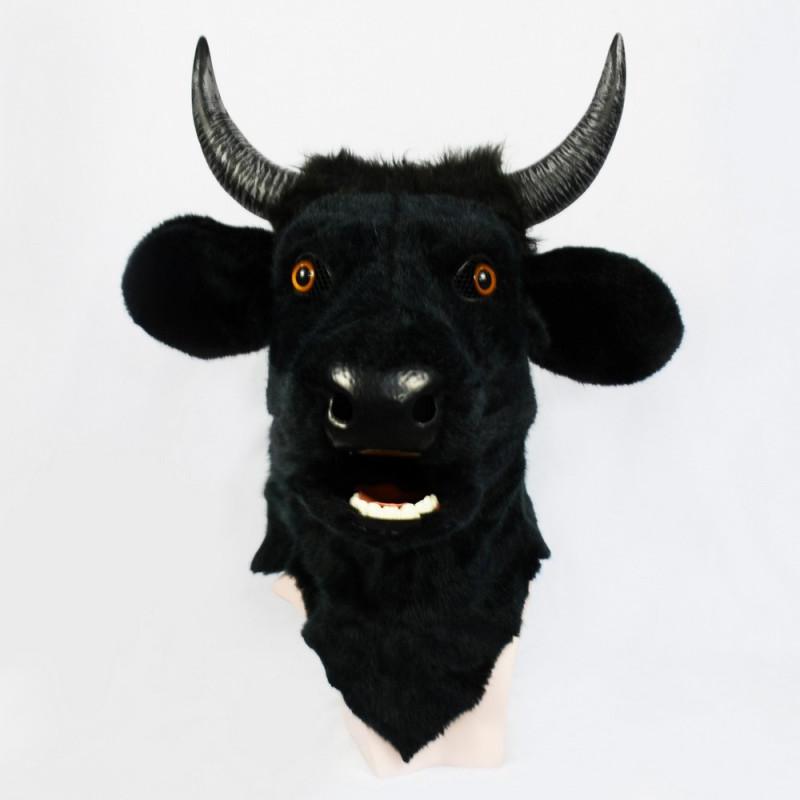 Stier Maske mit beweglichem Maul
