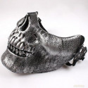 Totenkopf Halb Maske