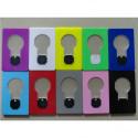 2 Ultra flache LED birne in Kreditkartengröße