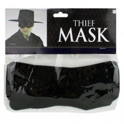 Banditen-Maske - Schwarze Augenmaske