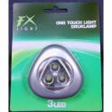 Dreieck LED Drucklampe