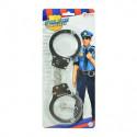 Metall Handschellen Polizisten