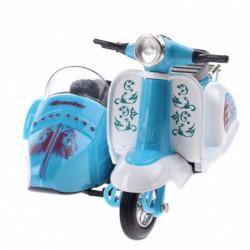 Vespa Roller / Motorrad mit Seitenwagen