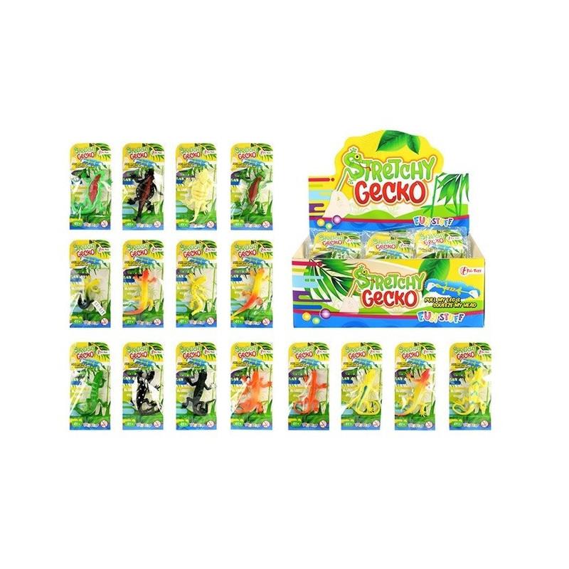 Gummi-eidechse Spielzeug