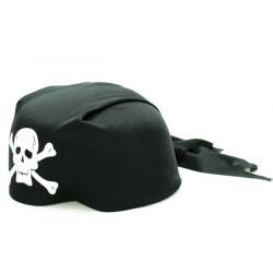 Piraten Bandana mit Totenkopf