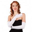 Nylonhandschuhe, 60 cm, schwarz oder weiß