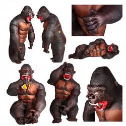 Aufblasbares Gorilla Kinder...