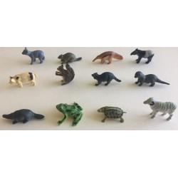12 Lustige Tierfiguren
