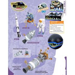 3D Astronaut & Weltraum Puzzle