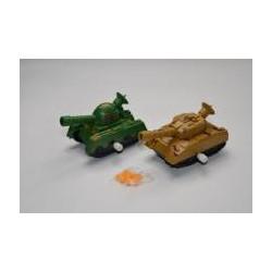 Aufziehbarer Panzer