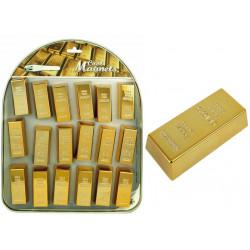 Magnet in Goldbarren-Form