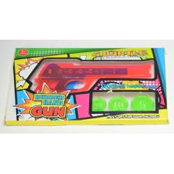 Pistole mit Gummiband