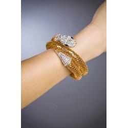 Modeschmuck-Armband mit Strass