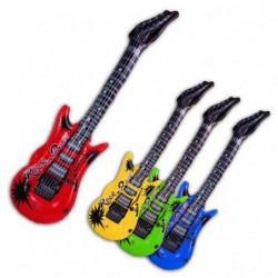 Aufblas Gitarre