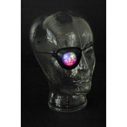 LED Piraten Augenklappe