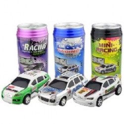 RC Mini Rennwagen in Cola Dose