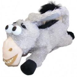 Rollender lachender Esel