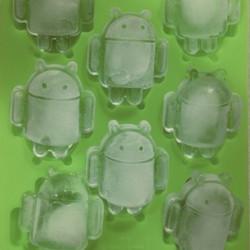 Android Silikon Eiswürfelform