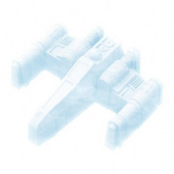 Star Wars X-Wing Fighter Eiswürfelform