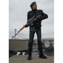 Dragunow-Scharfschützengewehr aus Papier