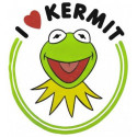 Coolen Kermit schneekugel aus der Muppets Show
