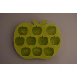 Eiswürfel Form Apfel