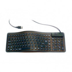 Flexible SilikonTastatur Keyboard mit 109 Tasten