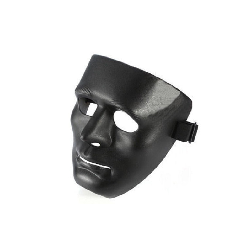 KAEI Gesichtsmaske aus Hartplastik Mit Gummiband und Clip