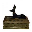 Ägyptisches Schmuckkästchen Anubis