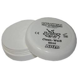 Aquaschminke Clownweiß 50 ml