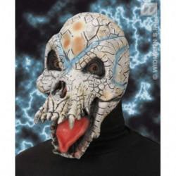 Reptilienschädel Maske