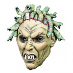 Karneval Latexmaske Schlangenhaupt Medusa