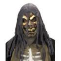 Zombie Maske mit Kapuze