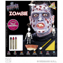 Make-up Set deluxe ZOMBIE