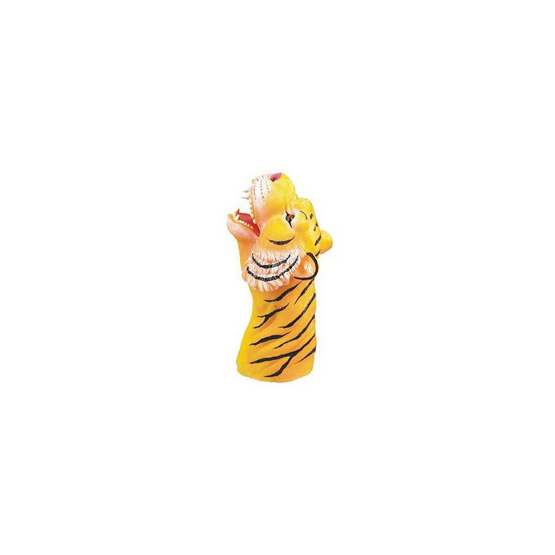 Handschuhpuppe Tiger Tierhandpuppe