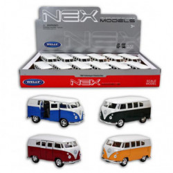 WELLY Volkswagen Bus 1962 Classic 1:24