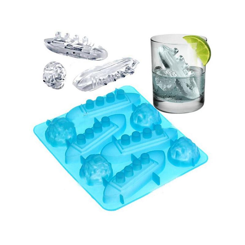 Eiswürfelform Titanic
